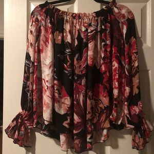 ***NWT***Floral Philosophy Blouse
